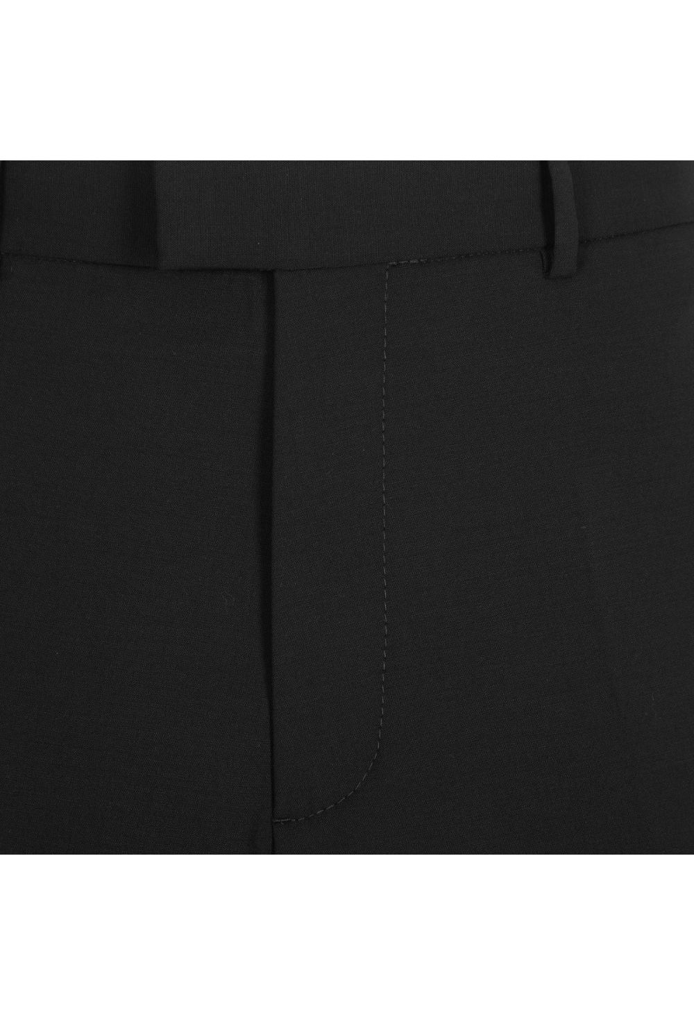 Dsquared2 Worsted Stretch Wool Cigarette Trousers